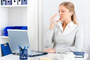 Water is essential at work during a heatwave